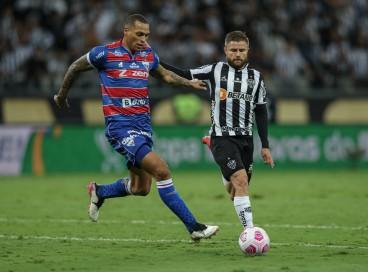 Zagueiro Titi foca em vitória contra o Athletico-PR, na Série A, antes de Fortaleza reencontrar o Atlético-MG pela Copa do Brasil
