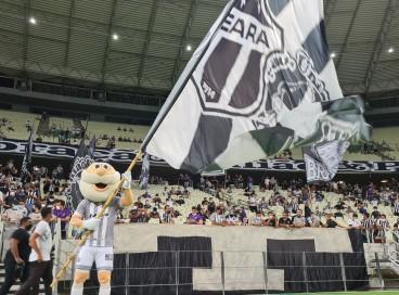 FORTALEZA-CE, BRASIL, 20-10-2021: Ceará x Palmeiras - Campeonato Brasileiro da Série A - 2021 - Estádio do Castelão. Ceará 1 x 2 Plameiras.