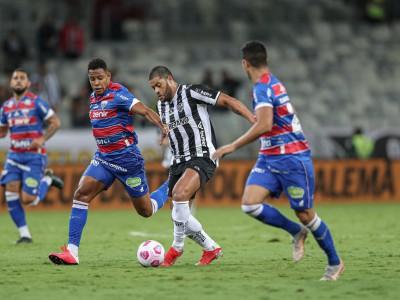 Atlético-MG e Fortaleza se enfrentaram pelo jogo de ida das semifinais da Copa do Brasil no Mineirão.