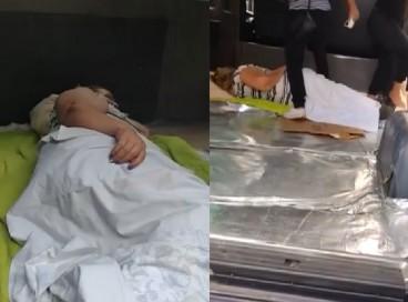 Mulher esperou duas horas pela ambulância, que nunca chegou; ela foi a hospital no chão de van emprestada por vizinho