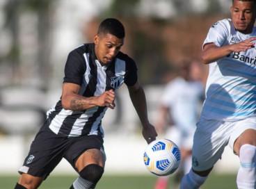Hélio Borges marcou o segundo gol do Ceará
