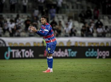 Volante Matheus Jussa no jogo Atlético-MG x Fortaleza, no Mineirão, pela Copa do Brasil