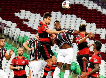 Fluminense x Flamengo pelo Brasileirão 2021 é um dos destaques dos jogos de hoje, 23.
