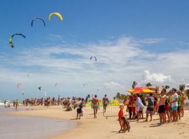 Superkite acontece em novembro na Praia do Cumbuco, em Caucaia