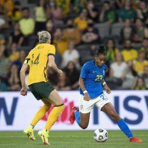 Seleção feminina de futebol perde por 3 a 1 amistoso contra a Austrália