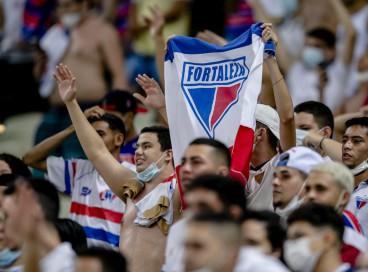 Torcida do Fortaleza quebrou o recorde de público da Arena Castelão desde a reabertura, com 7.011 presentes