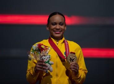 Rebeca Andrade se torna a primeira ginasta a conquistar duas medalhas no Mundial