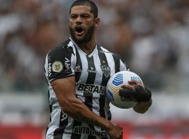 Hulk marcou um dos gols do Atlético-MG sobre o Cuiabá