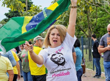 Ana Cristina Siqueira, ex-esposa de Jair Bolsonaro