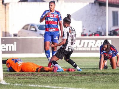 Ceará venceu primeiro Clássico-Rainha diante do Fortaleza pelo Cearense Feminino 2021 por 1 a 0. Rafa foi a autora do gol.
