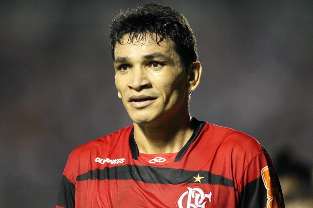 Cearense de Porteiras, Ronaldo Angelim entrou para a história do flamengo ao marcar gol decisivo para o hexacampeonato brasileiro do clube, em 2009(Foto: IGOR DE MELO)