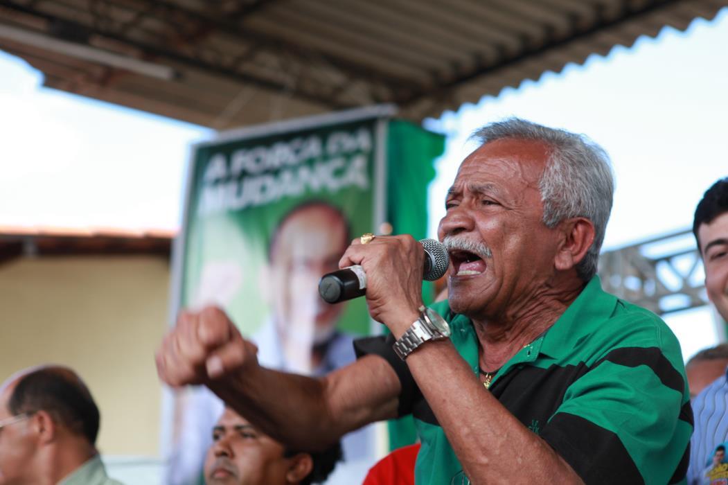 Chico Lopes quer mostrar que seu discurso ainda resiste. (Foto: Sara Maia)