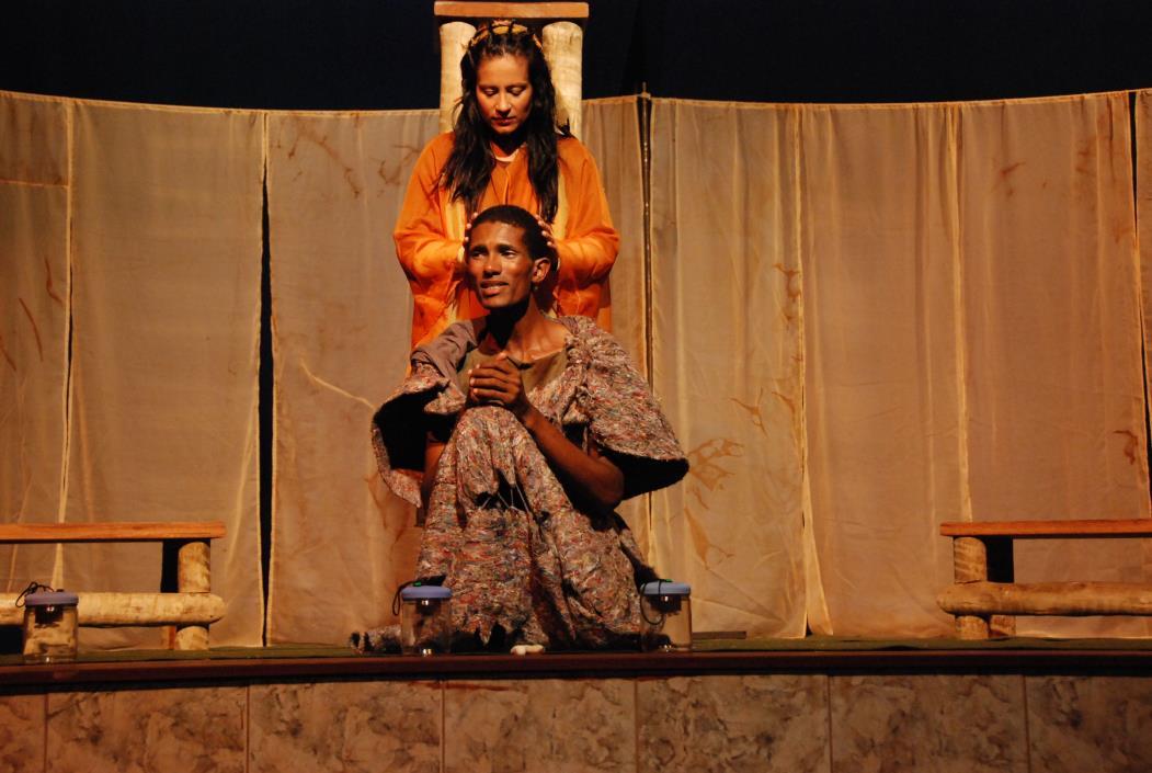 Na foto: Peça de teatro da 10° Mostra Brasileira de Teatro Transcendental Foto: Divulgação