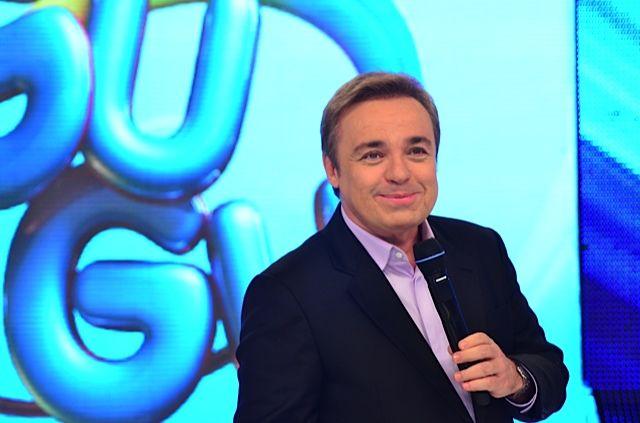Na foto: Antônio Augusto de Moraes Liberato (Gugu), apresentador Foto: Divulgação