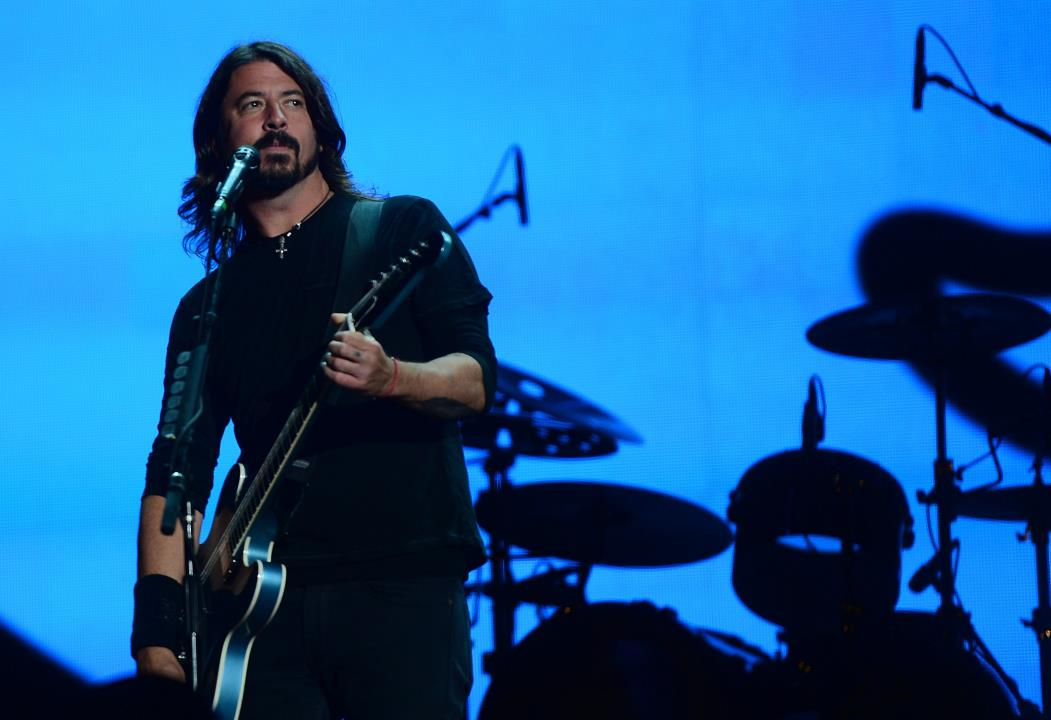 A banda Foo Fighters se apresenta dia 19 de junho de 2021, no Rock in Rio Lisboa (Foto: EMMANUEL DUNAND)