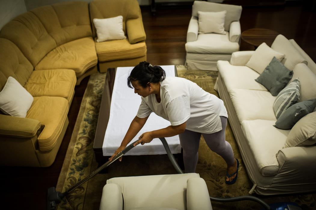 Cássia Mendes, trabalhadora doméstica em São Paulo