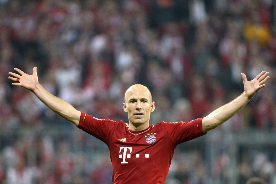 Arjen Robben anunciou aposentadoria aos 37 anos de idade  (Foto: PIERRE-PHILIPPE MARCOU/AFP)