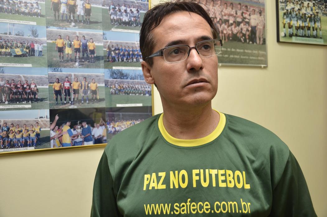 Marcos Gaúcho, presidente do Safece  (Foto: HUMBERTO MOTA em 02/10/2013)