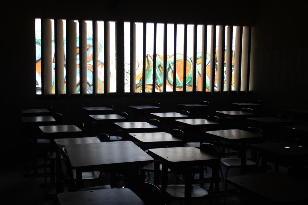 Salas de aulas seguem vazias na pandemia