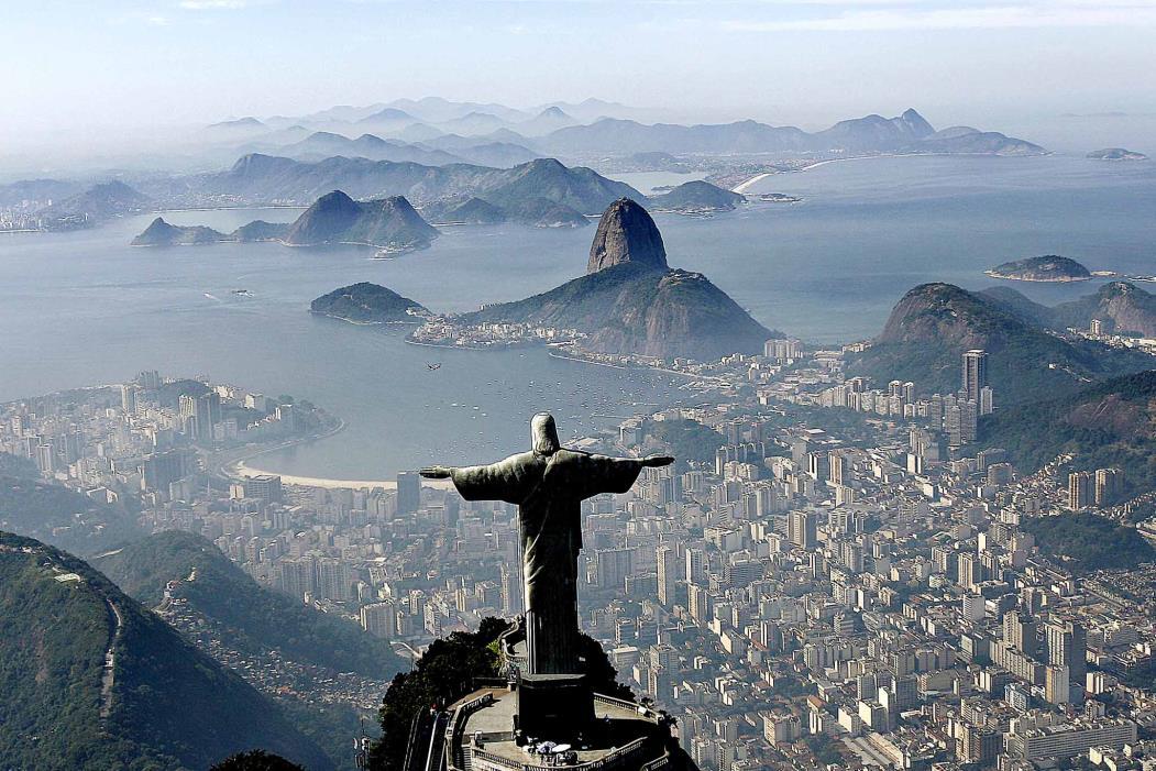Cristo Redentor fotografo do alto: símbolo do Rio de Janeiro (Foto: Ricardo Stuckert/ Fotos Públicas)