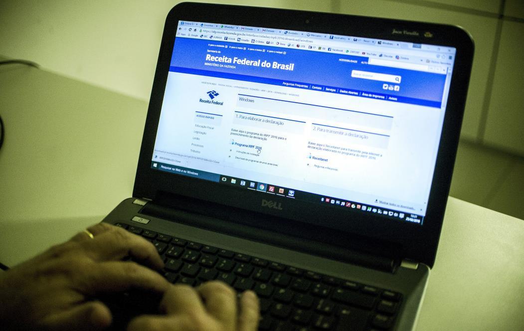 Brasília - Receita Federal libera o programa da Declaração do Imposto de Renda Pessoa Física 2016, ano-base 2015 (Foto: Marcelo Camargo/Agência Brasil)