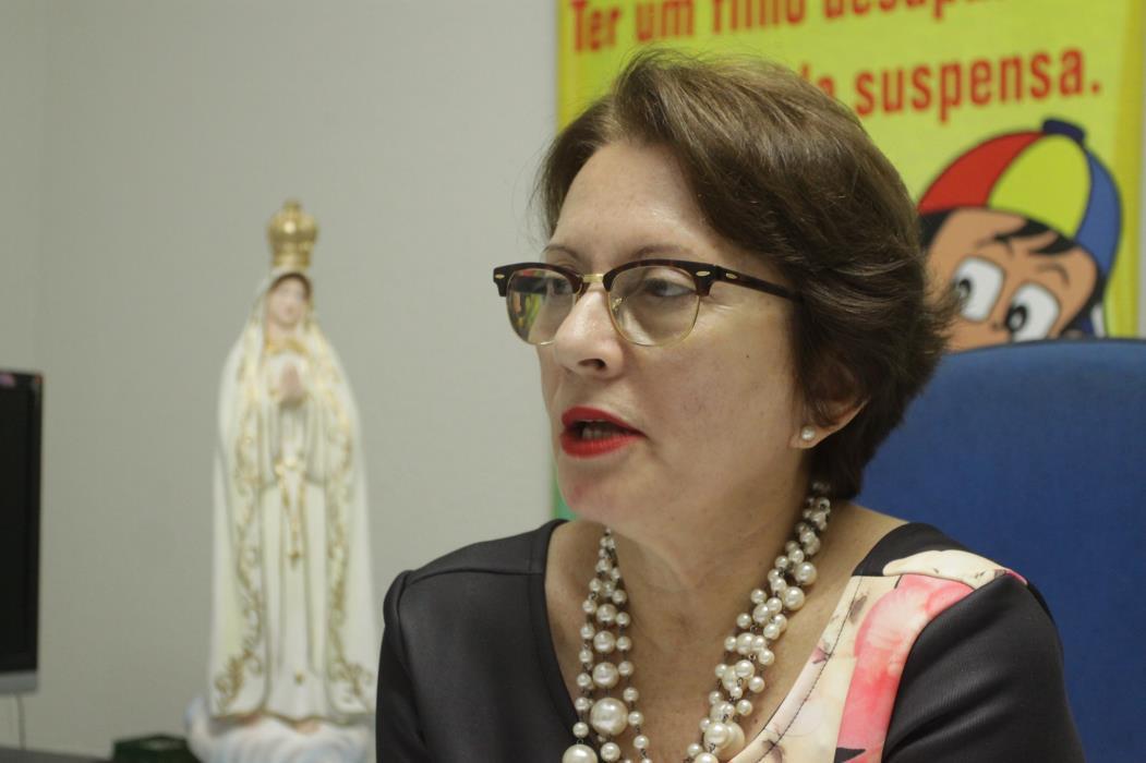 Ivana Timbó estava à frente da Delegacia de Combate a Exploração da Criança e Adolescente em 2016 (Foto: MAURI MELO)