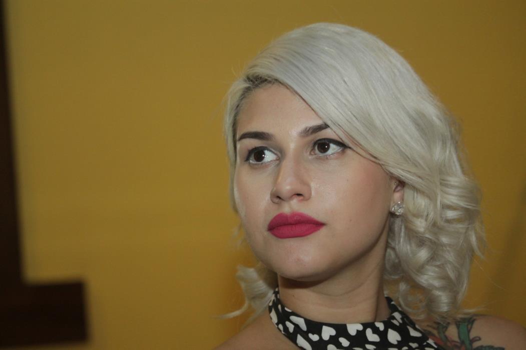 Sara Winter foi presa pela PF em Brasília (Foto: MAURI MELO)