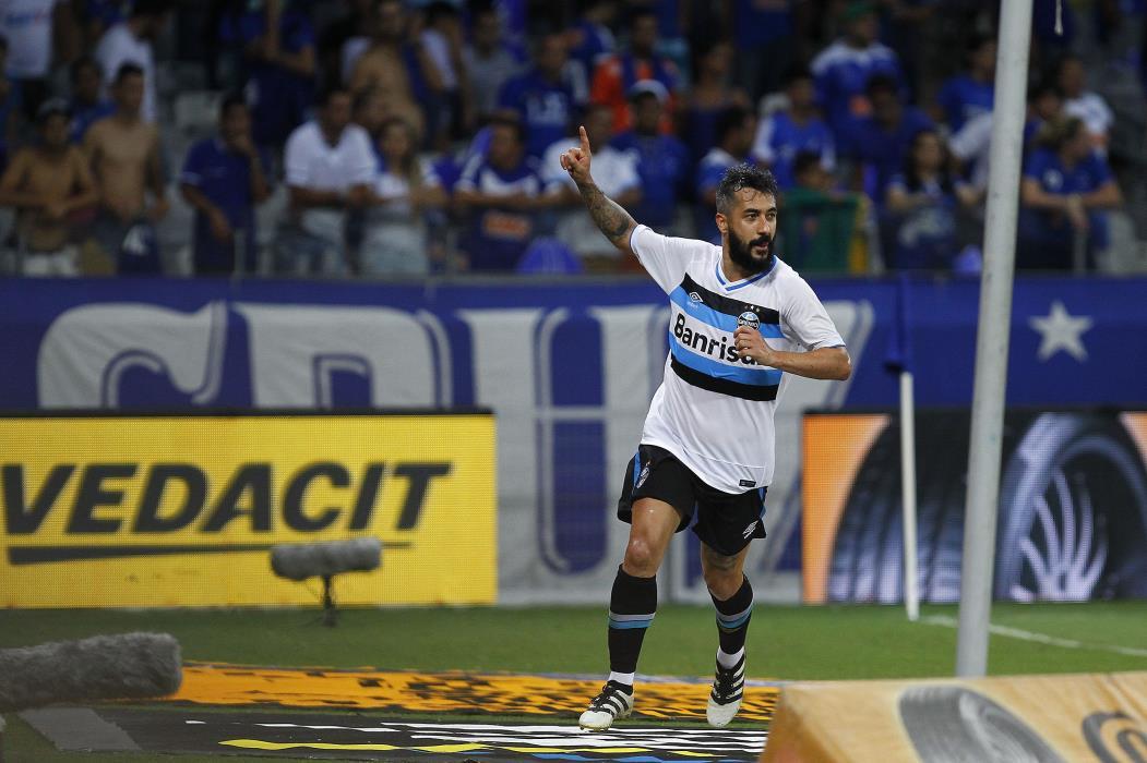 RS - FUTEBOL/COPADO BRASIL 2016/GREMIO X CRUZEIRO - ESPORTES - Lance da partida entre Cruzeiro e Gremio disputada na noite desta quarta-feira, no Estadio Mineirao em Belo Horizonte, valida pelo jogo de ida semifinal da Copa do Brasil 2016. (FOTO: LUCAS UEBEL/GREMIO FBPA) (Foto: Lucas Uebel/GREMIO FBPA)
