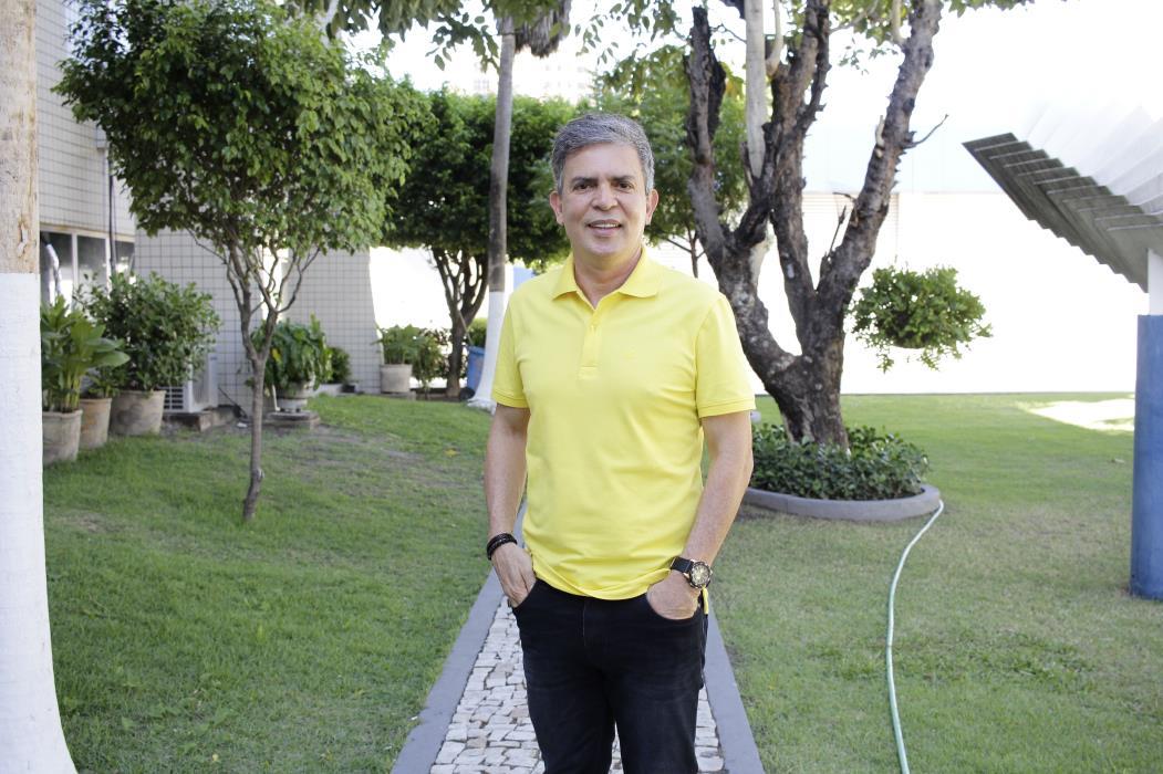 FORTALEZA, CE, BRASIL, 08-11-2016: Pastor Costa Neto, Coordenador do SUMMIT em Fortaleza, Pastor da videira. Coordena um evento de liderança mundial (SUMMIT BRASIL) temporada 2016/2017. (Foto: Aurélio Alves/ESPECIAL O POVO)