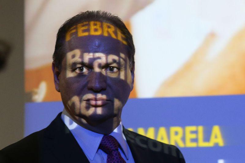 Brasília - O ministro da Saúde, Ricardo Barros, divulga números atualizados da febre amarela e anuncia estratégia para conter o avanço da doença no país. (Foto: Fabio Rodrigues Pozzebom/Agência Brasil)