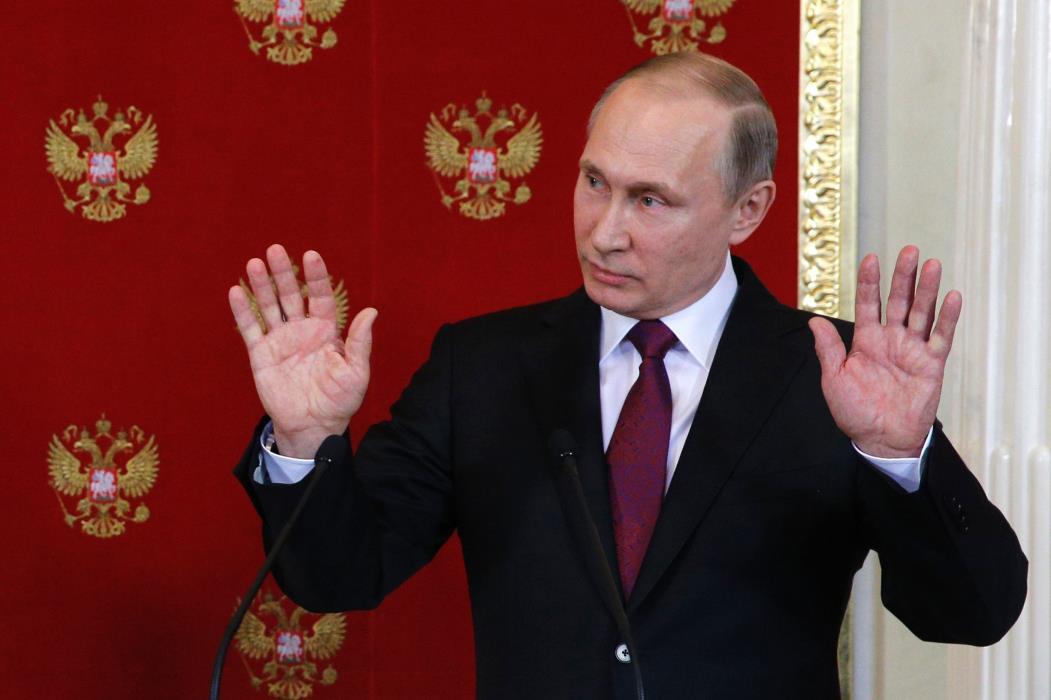 Vladimir Putin, presidente da Rússia vive imbróglio político com Estados Unidos