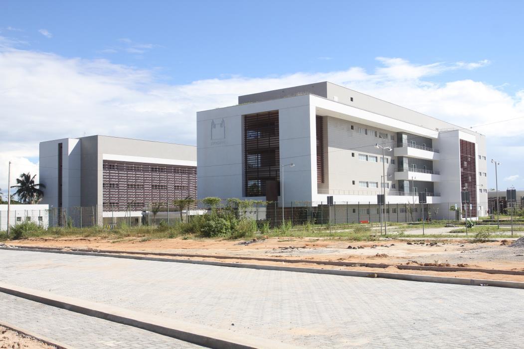 EUSÉBIO, CE, BRASIL: Vista prédio da Fiocruz no Polo Tecnológico de Saúde no Eusébio. (Foto: Evilázio Bezerra/O POVO em 26/05/2017) (Foto: EVILÁZIO BEZERRA)
