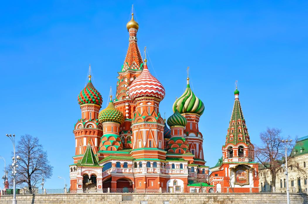 Saint Basil's Cathedral in Red Square, Moscow, Russia. Amik/Shutterstock.com (Foto: Amik/Shutterstock.com)