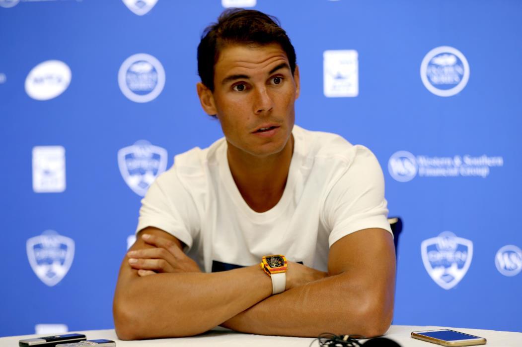Rafael Nadal é o atual segundo colocado no ranking mundial de tênis