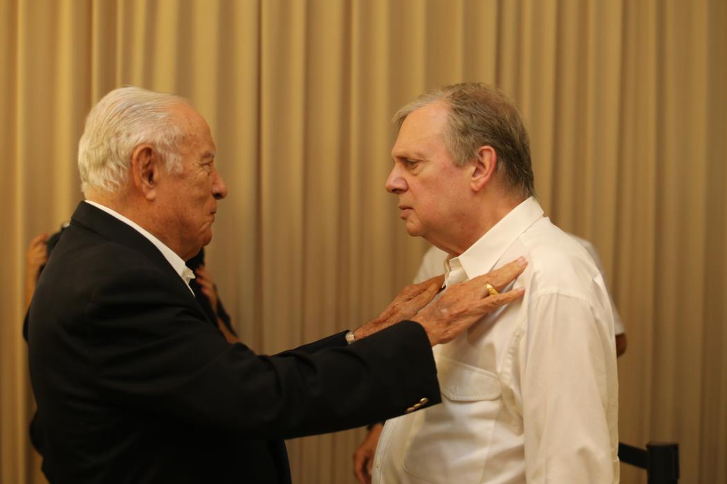 FORTALEZA, CE, BRASIL, 18-08-2017 : Adauto em evento com o senador Tasso Jereisati (Foto: Fabio Lima/O POVO)