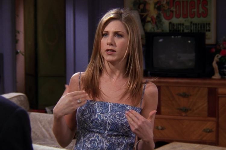 Jennifer Aniston vive Rachel Green na série de sucesso mundial (Foto: Divulgação)