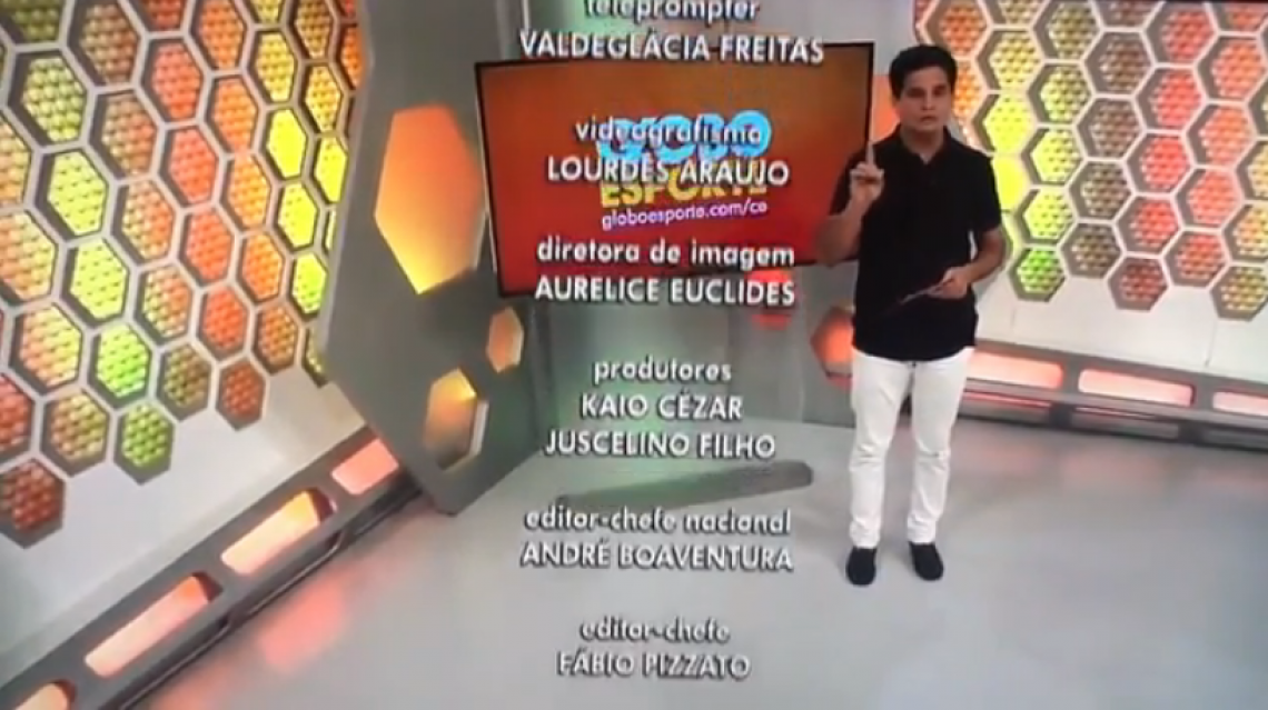 O apresentador pediu demissão ao vivo neste sábado, 16 (Foto: Reprodução/TV Verdes Mares)