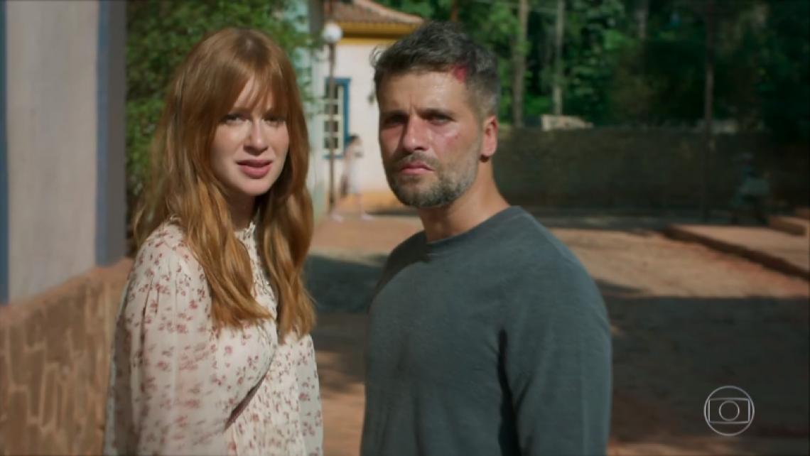 Marina Ruy Barbosa e Bruno Gagliasso cortam relações após polêmica envolvendo traições de José Loreto com atrizes do elenco. (Foto: Reprodução/TV Globo)