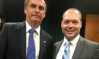 Jair Bolsonaro e Heitor Freire