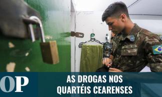 A realidade das drogas nas Forças Armadas no Ceará