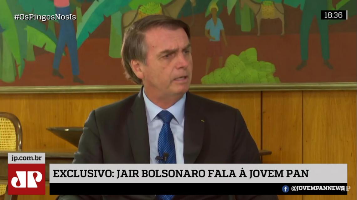 Bolsonaro falou sobre a tramitação da reforma da previdência e disse que proposta deve ser aprovada rapidamente