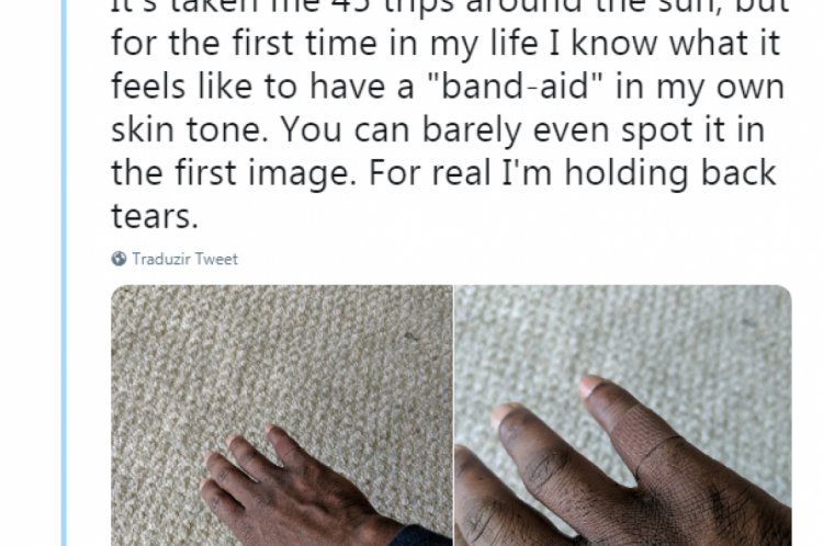 O tuíte de Dominique recebeu mais de 520 mil curtidas e foi compartilhado por 96 mil usuários na rede.