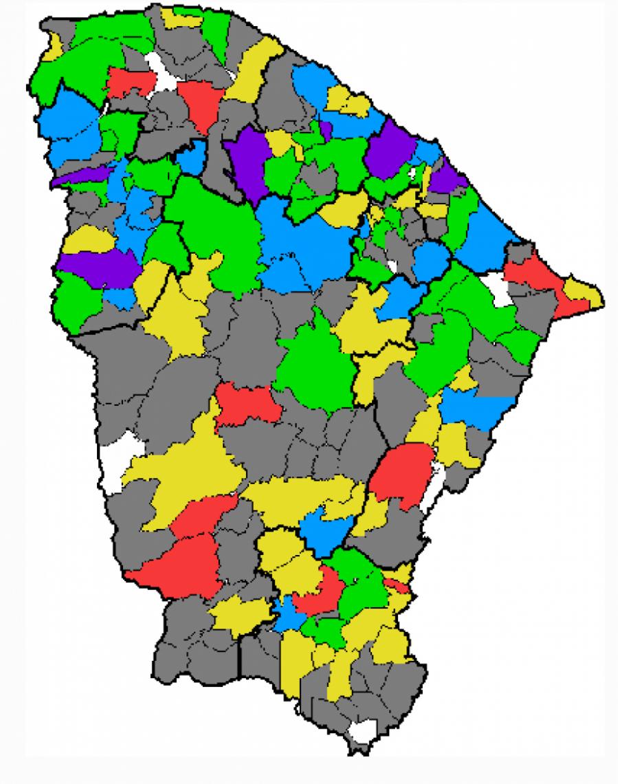 Chuvas atingiram mais de 100 municípios de quarta-feira, 1, até esta quinta-feira, 2