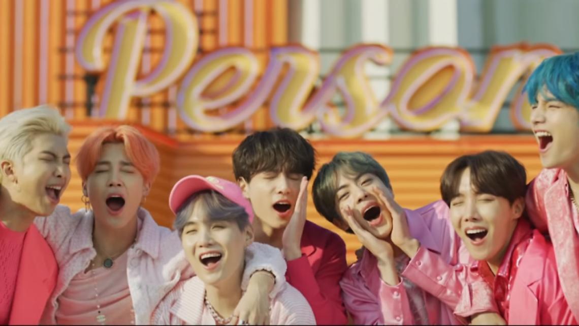 Grupo de K-Pop BTS é um dos maiores representantes do gênero no cenário musical atual.