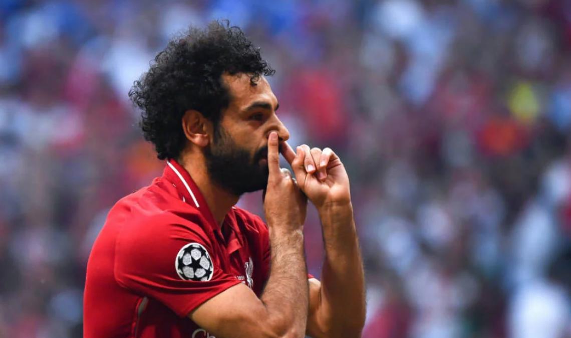 Salah marcou o gol do título do Liverpool