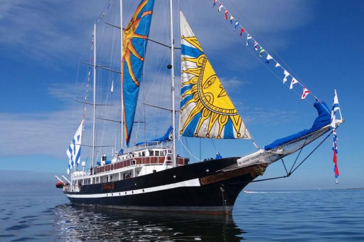O navio fica aberto para visitação quinta e sexta-feiras