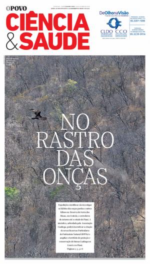 Caderno com a reportagem No Rastro das Onças foi publicado em 2018 na versão impressa do O POVO