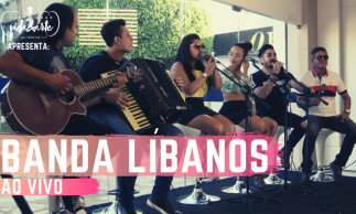 Show exclusivo da Banda Líbanos | Happy Hour Vida&Arte