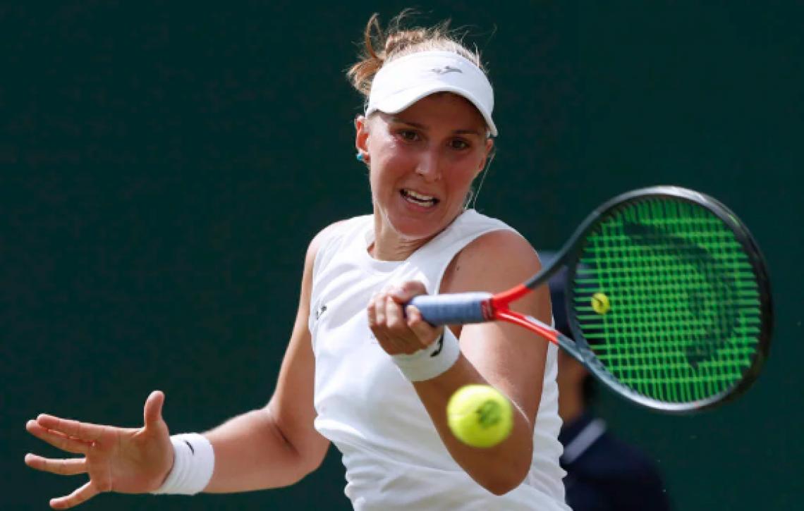Bia representa o tênis brasileiro nas chaves de simples em Wimbledon