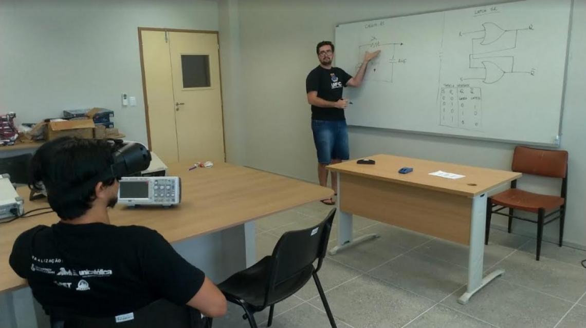 O aplicativo VREye está sendo desenvolvido no campus de Quixadá da Universidade Federal do Ceará (UFC).